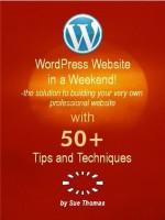 WordPress Website in a Weekend - Sue Thomas