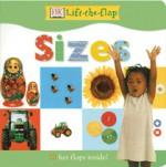 DK Lift the Flap Sizes Board Book - Anne Millard