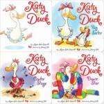 Katy Duck board book 4-pack: Katy Duck; Katy Duck, Big Sister; Katy Duck, Center Stage; Katy Duck, Dance Star - Alyssa Satin Capucilli, Henry Cole