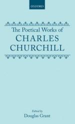 Poetical Works Ed Grant - Charles Churchill, Douglas Grant