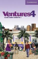 Ventures 4 Class Audio Cassette - K. Lynn Savage, Dennis Johnson, Donna Price, Gretchen Bitterlin, Sylvia Ramirez