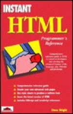 Instant Html Programmer's Reference - Steve Wright