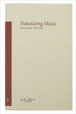 Translating Music - Richard Pevear