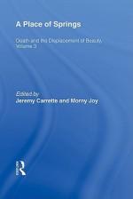 A Place of Springs - Grace M. Jantzen, Jeremy R. Carrette, Morny Joy