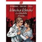Vanina Vanini; La Vendetta; Nantas - Émile Zola, Honoré de Balzac, Stendhal