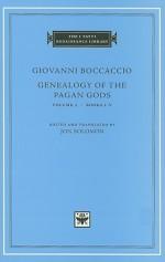 Genealogy of the Pagan Gods, Volume 1: Books I-V (I Tatti Renaissance Library) - Giovanni Boccaccio
