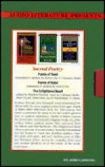 Sacred Poetry: Poems of Rumi, the Enlightened Heart, Poems of Kabir - Coleman Barks, Stephen Mitchell, Jacob Needleman