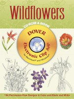 Wildflowers CD-ROM and Book - Dover Publications Inc.