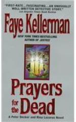 Prayers for the Dead - Faye Kellerman