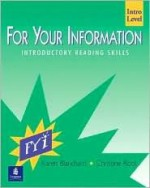 For Your Information, Intro Level - Karen Blanchard, Christine Root