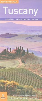 Rough Guide Map Tuscany (Rough Guide Map: Tuscany) - Rough Guides