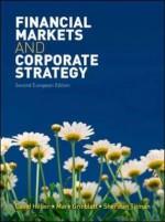Financial Markets and Corporate Strategy. Mark Grinblatt, Sheridan Titman - Mark Grinblatt