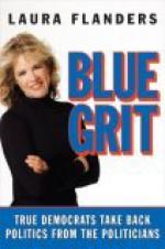 Blue Grit: True Democrats Take Back Politics from the Politicians - Laura Flanders