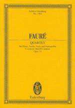 Piano Quartet No. 1, Op. 15 - Gabriel Faure