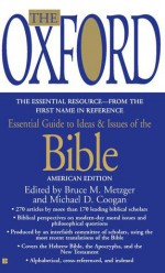 The Oxford Essential Guide to Ideas and Issues of the Bible - Bruce M. Metzger, Michael D. Coogan