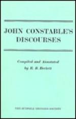 John Constable's Discourses (Suffolk Records Society (Series), V. 14.) - John Constable