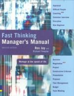 Fast Thinking Manager's Manual - Ros Jay, Richard Templar