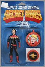 Captain Marvel and the Carol Corps #1 Action Figure Variant - John Tyler Christopher, Kelly Sue DeConnick, Keith Thompson, David López