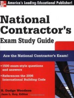 National Contractor's Exam Study Guide (McGraw-Hill's National Contractor's Exam Study Guide) - R. Woodson