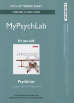 New Mypsychlab -- Standalone Access Card -- For Psychology - Amy Marin, Roger R. Hock