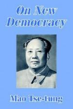 On New Democracy - Mao Tse-tung