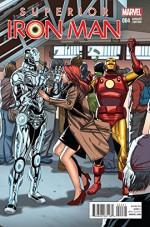 Superior Iron Man #4 1-in-20 Variant Cover Edition - Tom Taylor, Yildiray Cinar, Tom Taylor