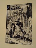 Batman Issue 1 Black and White Cover By Marc Silvestri - neal adams, chip kidd, maris wicks, john arcudi, howard mackie, bob kane