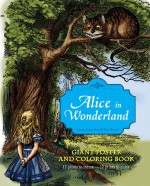 Alice in Wonderland Giant Poster and Coloring Book - Lewis Carroll, John Tenniel