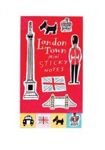 London Town Mini Sticky Notes - Sarah McMenemy