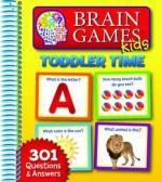 Brain Games for Kids: Toddler Time - Publications International Ltd.