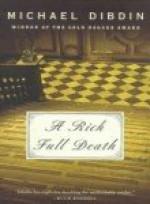 A Rich Full Death - Michael Dibdin