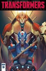 Transformers: Till All Are One #9 - Sara Pitre-Durocher, Mairghread Scott