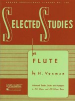 Selected Studies: Flute (Rubank Educational Library) - H. Voxman