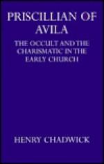 Priscillian of Avila (Academic Monograph Reprints) - Henry Chadwick