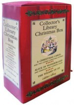 Collector's Library Christmas Box: A Christmas Carol/Alice in Wonderland/The Wizard of Oz - Lewis Carroll, Charles Dickens, L. Frank Baum