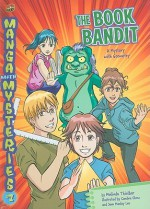 The Book Bandit: A Mystery with Geometry - Melinda Thielbar, Eve Grandt, Candice Chow