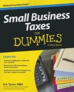 Small Business Taxes For Dummies - Eric Tyson