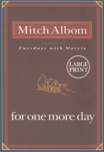 For One More Day Large Print Edition - Mitch Albom