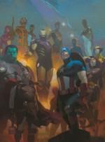 Avengers, Vol. 5: Adapt or Die - Jonathan Hickman, Esad Ribic, Salvador Larroca