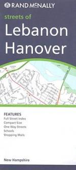 Lebanon/Hanover/White River, New Hampshire Map - Rand McNally, Rand Mcnally Paper Folded Map
