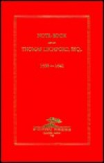 Note-Book Kept by Thomas Lechford, Esq., 163-1641 - Thomas Lechford, Edward Everett Hale