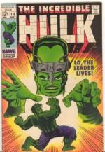 The Incredible Hulk (Vol. 1 No. 115, May 1969) (Lo, The Leader Lives) - Stan Lee, Herb Trimpe, Dan Adkins, Artie Simek