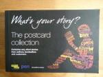 What's Your Story? (Postcard Collection) - Tom Stoppard, Lauren Child, Sebastian Faulks, Richard Ford, Doris Lessing, Axel Scheffler, Lisa Appignanesi, Michael Rosen, Nick Hornby, Irvine Welsh, Neil Gaiman, Margaret Atwood, J.K. Rowling