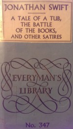 A Tale of a Tub: And Other Satires (Everyman's Library, #347) - Jonathan Swift, Lewis Melville
