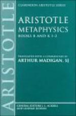 Metaphysics: Books B & K 1-2 - Aristotle