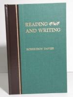 Reading and Writing - Robertson Davies