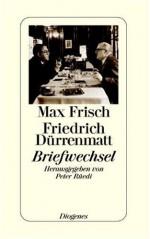 Briefwechsel - Max Frisch