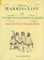 Harris's List of Covent Garden Ladies: Sex in the City in Georgian Britain - Hallie Rubenhold