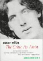 The Critic as Artist - Oscar Wilde