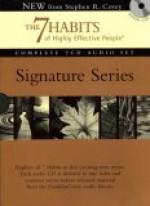 The 7 Habits Signature Series Set (Audio) - Stephen R. Covey